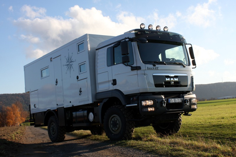 Sportsmobile 4x4 For Sale >> Expedtition Camper Dakar 830F on a MAN TM 4x4