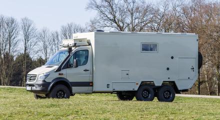 Motorhome Dakar 755 6x6 140 Kw 190 Ps Bocklet