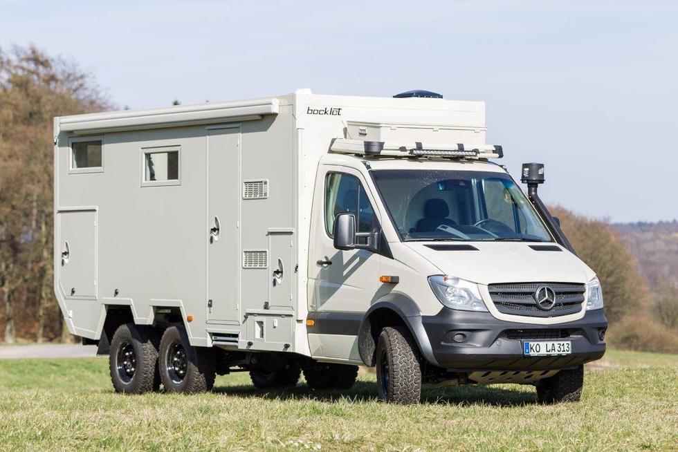 Sprinter Van For Sale >> Bocklet Dakar 755