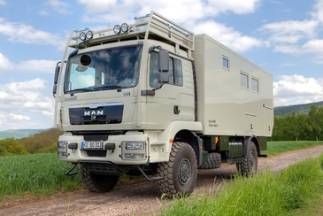 Expedition campers DAKAR by Bocklet