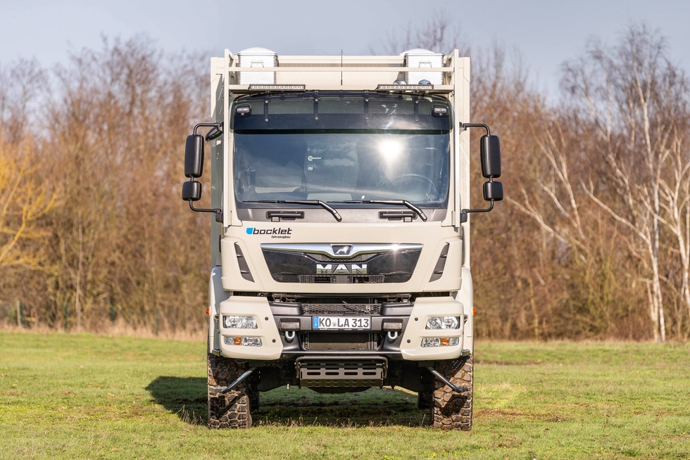 New Heavy Duty Expedition camper on MAN TGM 4x4