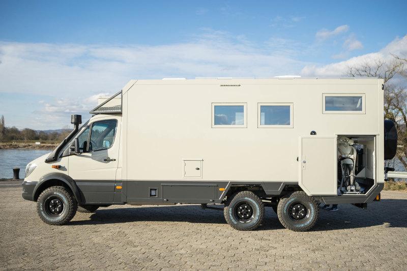 Motorhome Dakar 760 6x6 140 Kw 190 Ps Bocklet