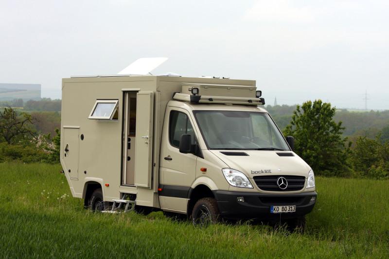 Reisemobil Dakar 615 120 163 Kw Ps Bocklet Fahrzeugbau